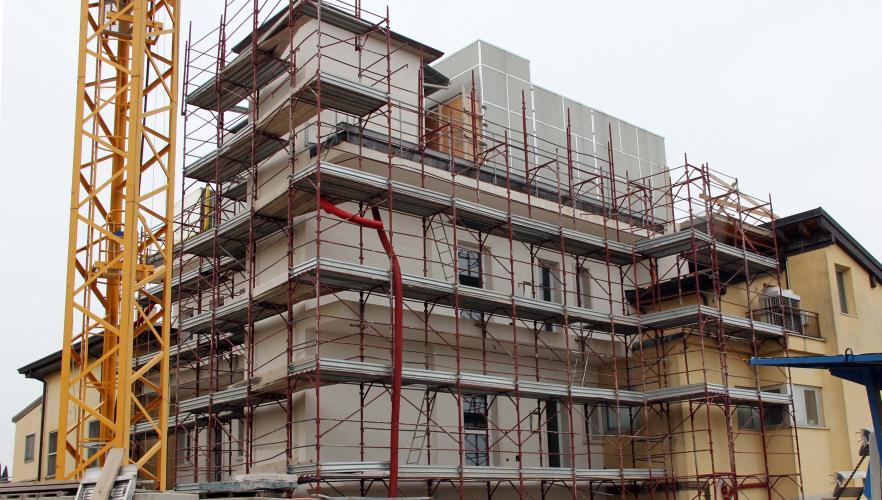 Rossi service s r l costruzioni edili edilizia - Ampliamento casa ...